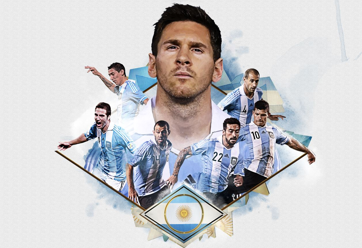 2014 FIFA WORLD CUP – TEAM Illustrations