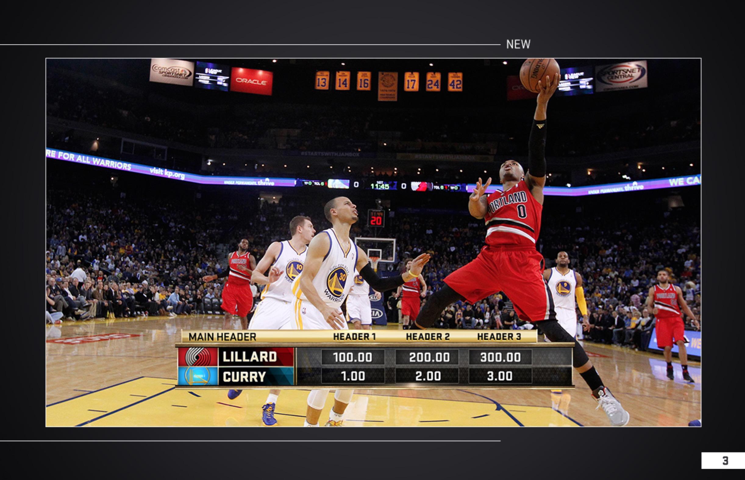 2015 NBA FINALS – Insert Designs