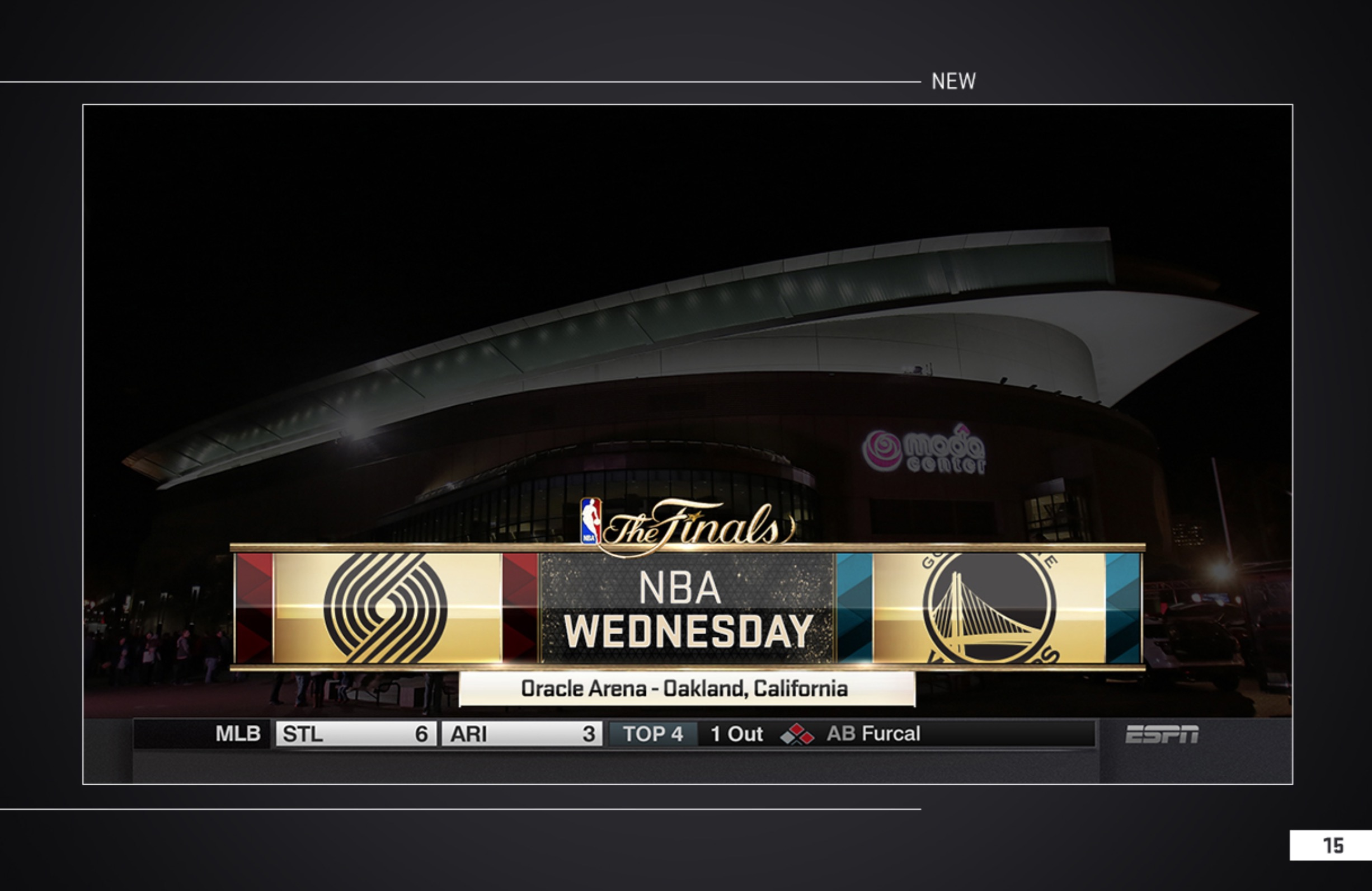 2015 NBA FINALS – Insert Designs